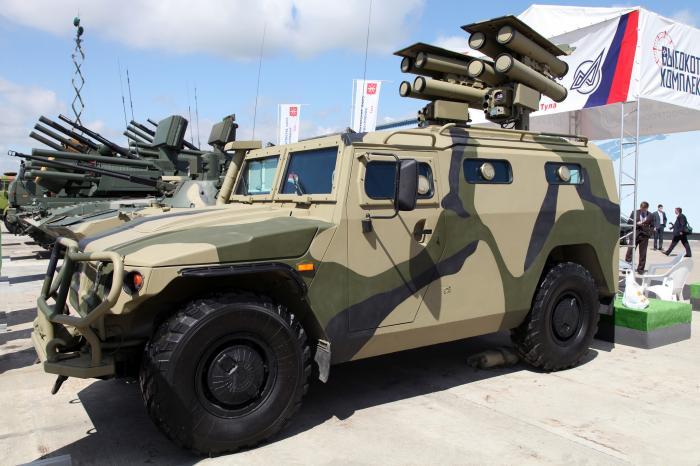Минобороны Алжира приобрело партию российских бронеавтомобилей «Тигр-ЭМ»