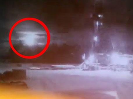 Неизвестный космический объект осветил небо над Байкалом вспышкой яркого света