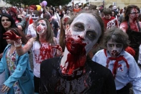 Хеллоуин на Украине - генеральная репетиция годовщины кровавой революции дебилов