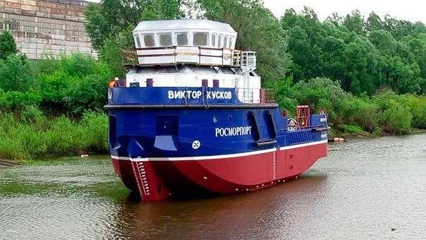 9. Сосновский завод отправил на испытания головное лоцмейстерское судно «Виктор Кусков» проекта BLV04 Сделано у нас, политика, факты