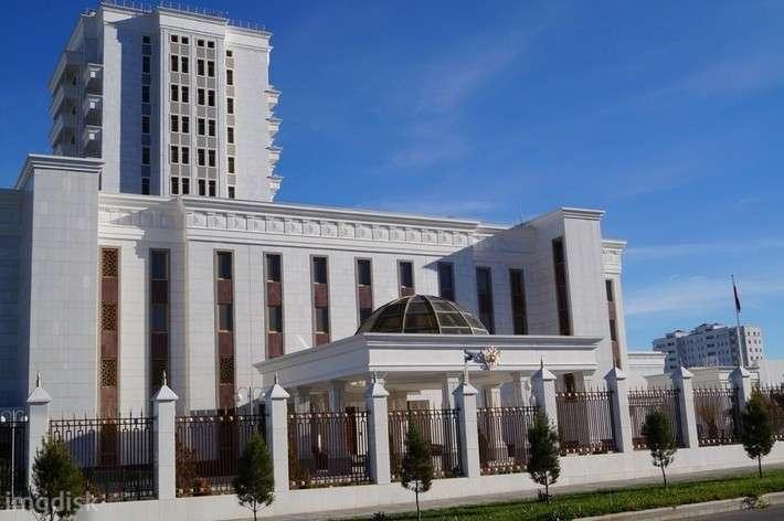 41. Открыто новое посольство России в Туркменистане Сделано у нас, политика, факты