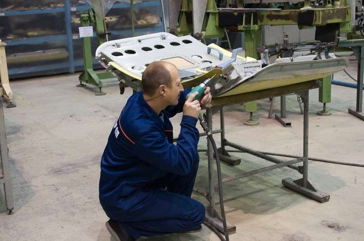 4. В АО «Авиастар-СП» изготовлен очередной комплект агрегатов для Ил-112 В Сделано у нас, политика, факты