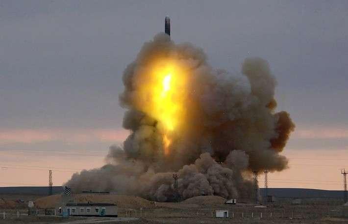 47. РВСН произвели успешный пуск межконтинентальной баллистической ракеты РС-18 Сделано у нас, политика, факты