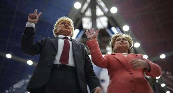 Выборы в США: с вероятностью в 95% улицы Америки утонут в крови