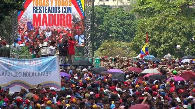 Паразиты акциями протеста расшатывают ситуацию в Венесуэле