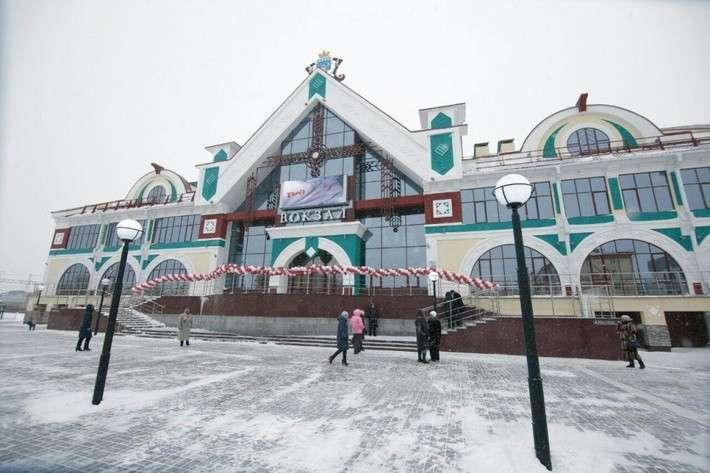 Новый вокзал открыли в городе Белово Кемеровской области