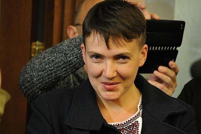 После визита в Москву Савченко стала «эфесбэшницей» и «жидовкой»