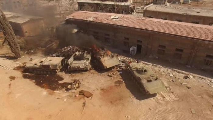 В Алеппо боевики перешли в наступление. Репортаж Евгения Поддубного
