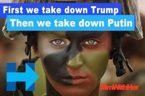 Феминистки взбесились: «Эй, Путин. Мы не только голосуем, мы ещё убиваем русских»