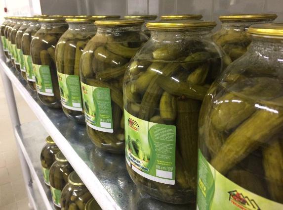 В Ульяновской области открыли линию по консервированию овощей и склады хранения