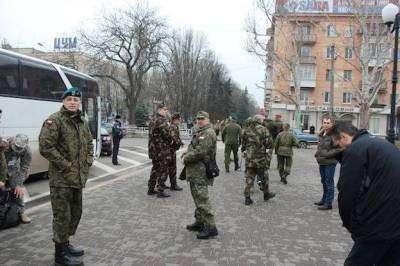 Польские военные в Херсоне