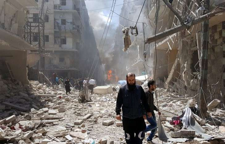 Количество обстрелов жилых районов Алеппо американскими наёмниками выросло в несколько раз