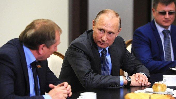 Встреча Владимира Путина с представителями сельхозпредприятий Краснодарского края