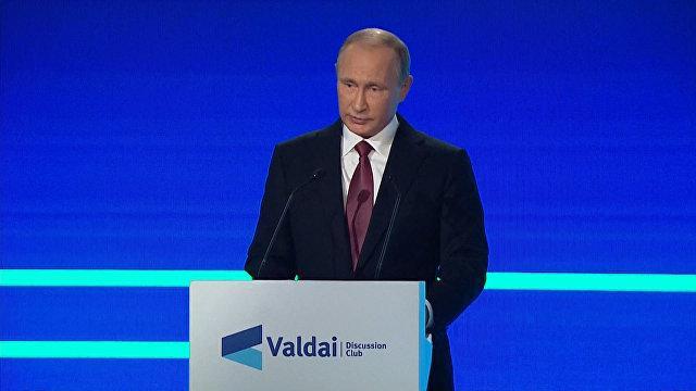 Владимир Путин объяснил, зачем в США создают видимость российской военной угрозы
