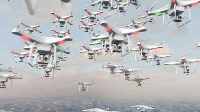 В России создано оружие для борьбы со стаями ударных дронов