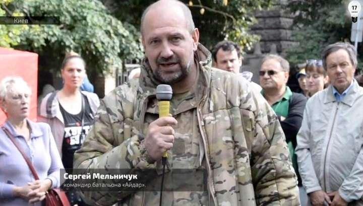 Укро-дебил Мельничук заявил, что на Украине можно воровать безнаказанно