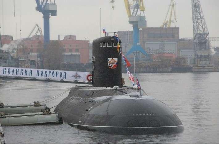 32. Подводная лодка «Великий Новгород» передана ВМФ Сделано у нас, политика, факты