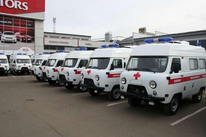3. Тамбовская область получила 16 новых машин скорой помощи для районных больниц Сделано у нас, политика, факты
