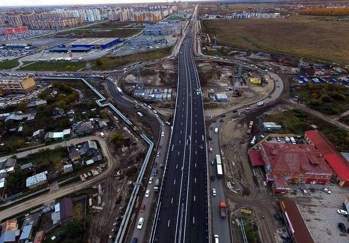 44. В Тюмени в рекордные сроки построена новая транспортная развязка Сделано у нас, политика, факты