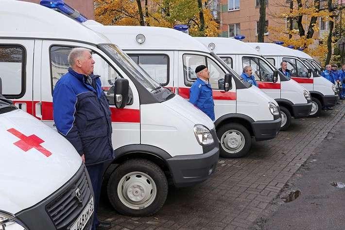 4.  Учреждения здравоохранения Калининградской области получили 9 автомобилей скорой помощи  Сделано у нас, политика, факты