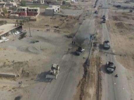 Вхождение армии Ирака в Мосул: сегодняшние кадры с беспилотника