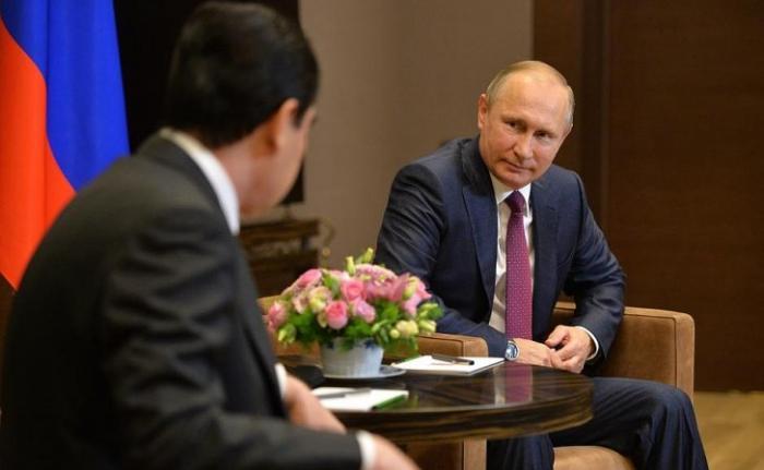 Владимир Путин встретился с Президентом Туркменистана Гурбангулы Бердымухамедовым