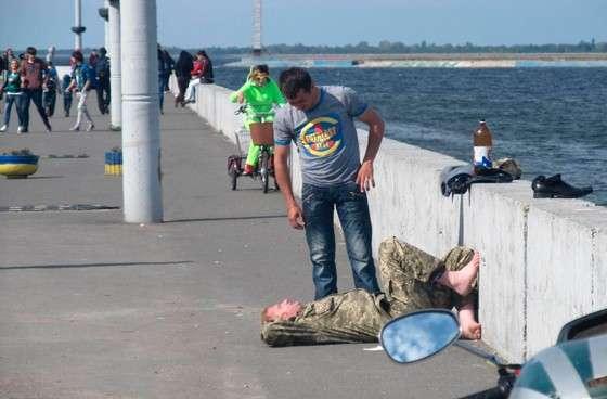 Пьянство в АТО и в тылу