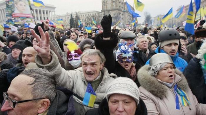 Украина - реальный заповедник совсем непуганых идиотов