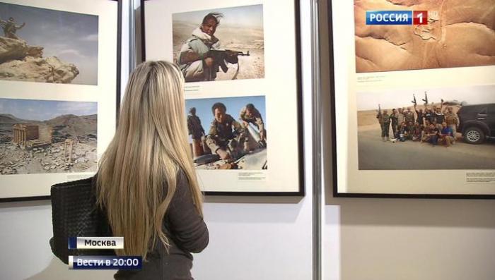 Древняя Пальмира глазами журналистов ВГТРК: так войну не снимал никто