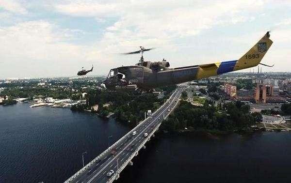 Американские военные вертолёты уже на Украине