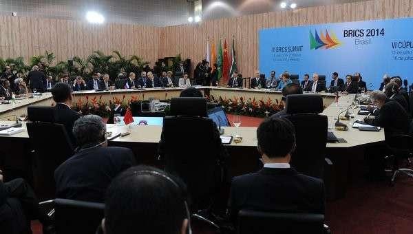 Президент России Владимир Путин принимает участие в заседании саммита лидеров стран БРИКС. Архивное фото