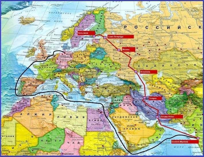 10. коридор «Север-Юг» через Иран начал работу Сделано у нас, политика, факты