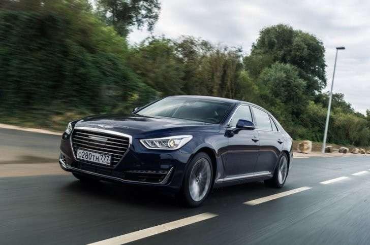 7. «Автотор» начал производство флагманского Genesis G90 в Калининграде Сделано у нас, политика, факты