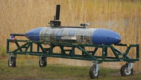 Завершились испытания роботизированного автономного необитаемого аппарата-планера