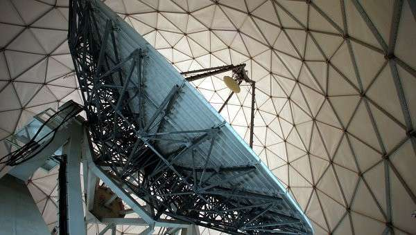 Спутниковая антенна, архивное фото
