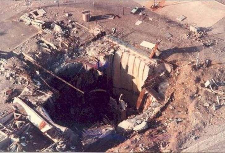 Ядерную ракету Титан II удалось взорвать обычным болтом