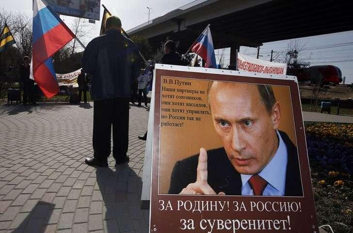 Владимир Путин — вождь разгневанных людей всего Мира