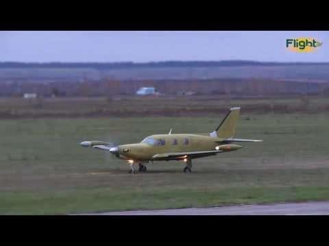 Новый российский самолёт DS-18 совершил первый полёт