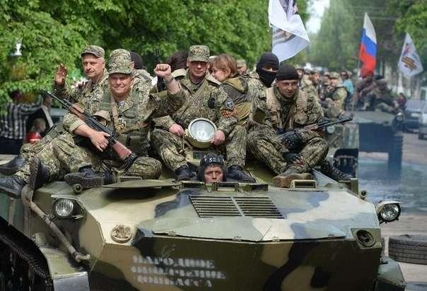 Ополченцы под Донецком перешли в наступление