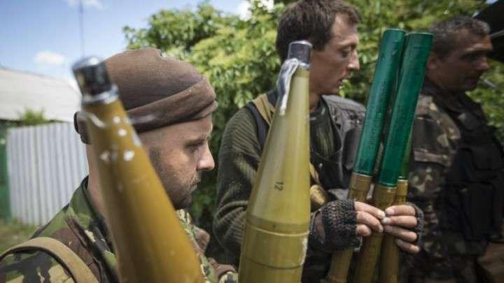 Донецкие ополченцы заняли Мариновку и «захлопнули южный котел»