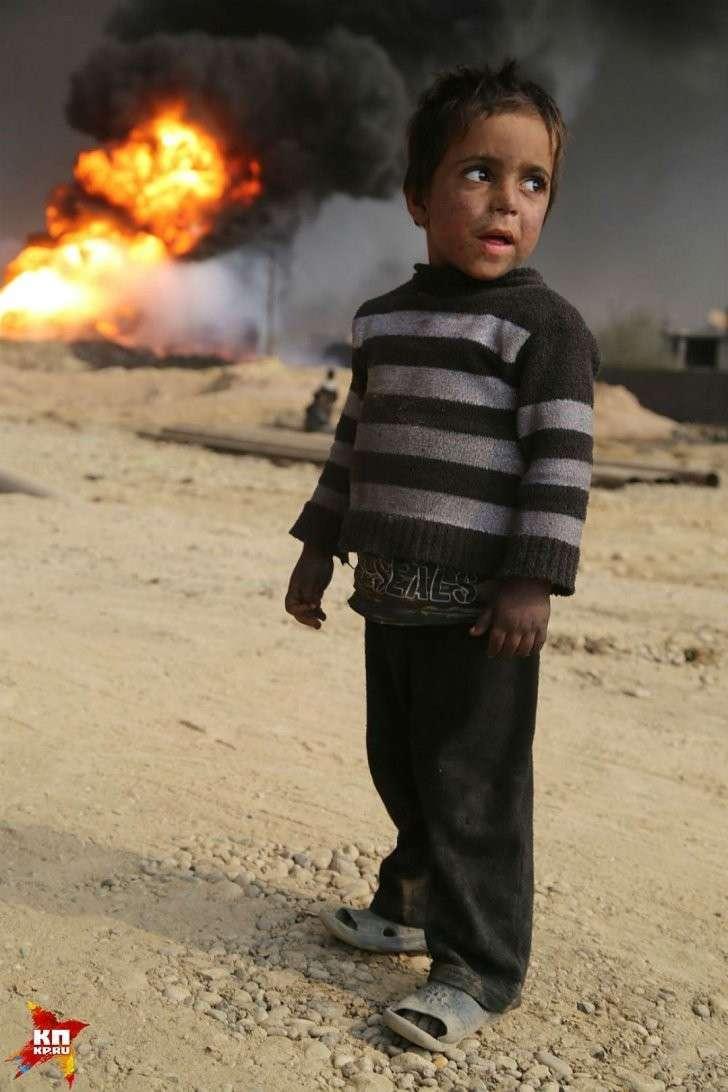 Нет ничего более выразительного, чем «дети войны». Фото: Александр КОЦ, Дмитрий СТЕШИН