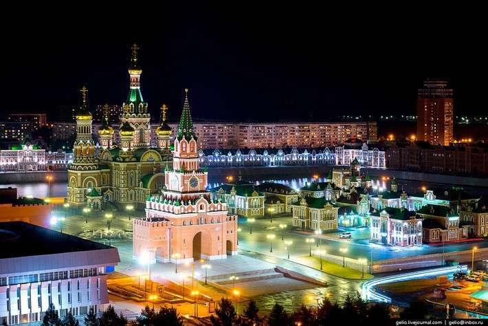 Йошкар-Ола - столица республики Марий-Эл. Единственный город на букву «Й»