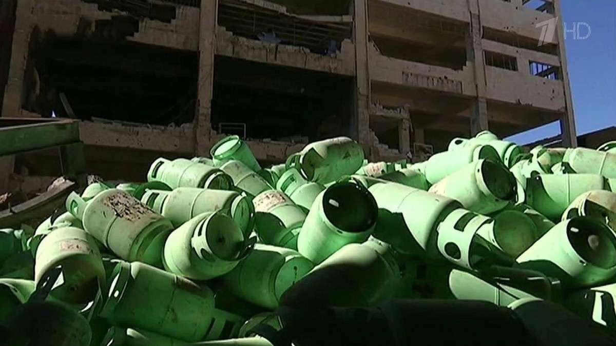 Фабрику по производству «адского огня» обнаружили в одном из отбитых у боевиков кварталов Алеппо