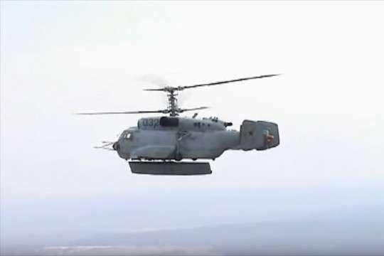 Новейший вертолет делает возможным массовый ракетный удар в Сирии