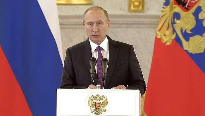 Владимир Путин поздравил американский народ с окончанием выборов