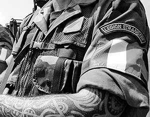 На Востоке Украины воюют иностранные наёмники