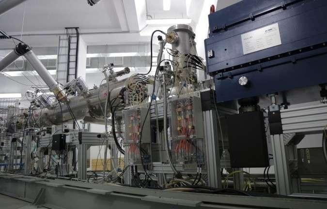 27. В Дубне запущен линейный ускоритель тяжелых ионов для коллайдера NICA Сделано у нас, политика, факты