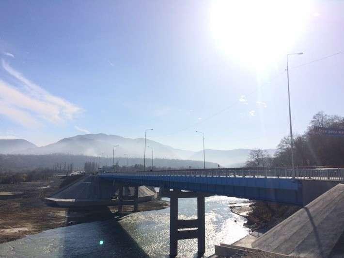 36. В Чеченской республике открыт мост через реку Аргун Сделано у нас, политика, факты