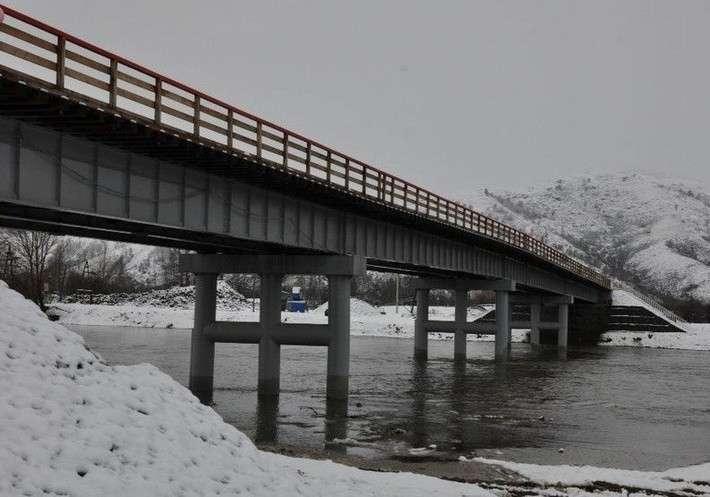 37. В Алтайском крае открыли мост через реку Чарыш Сделано у нас, политика, факты