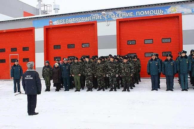 44. В Пермском крае открыли пожарное депо Сделано у нас, политика, факты